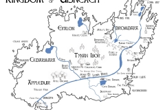 Map of Kingdom of Uisneach